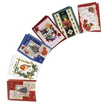 3d Christmas Cards Book And Decoupage