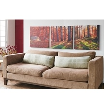 Triptych Autumn Maple Canvas Prints