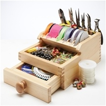 Wooden Craft Organiser