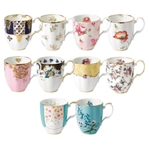 Royal Albert 100 Years Mugs