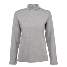 Plain Long Sleeve Turtleneck Tee