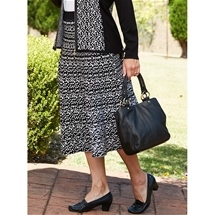Spot Double Knit Skirt