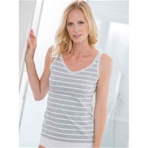 Lace Edge Cotton Cami