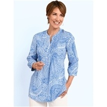 Feather Print Tunic