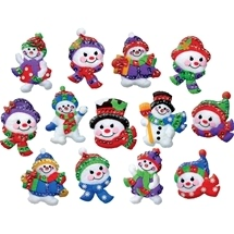 Jolly Snowman Ornaments