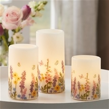 Exquisite Set of Butterfly Candles