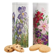 Churchills Floral Biscuit Tins