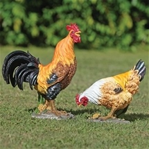 Chook Couple Decorations