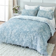 Calista Blue Quilt Cover Set