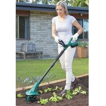 Cordless Cultivator & Batteries