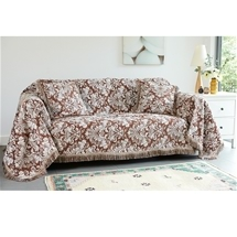 Damask Furniture Throws
