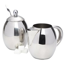 Sugar Bowl & Milk Jug