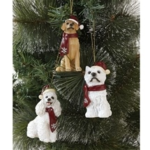 Christmas Decorative Dogs