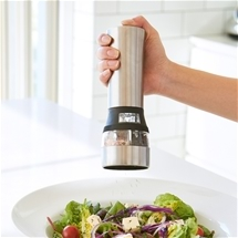 2-in-1 Electric Salt & Pepper Grinder
