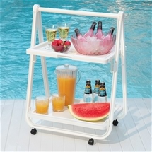 Folding Trolley Tray