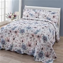 Floral Watercolour Bedspread