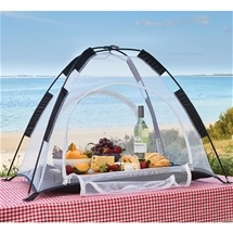 Large Zip Close Tabletop Food Tent