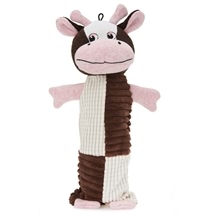 Cow Bottle Buddy Toy