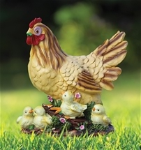 Adorable Hen and Chicks