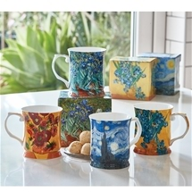 Stunning Monet and Van Gogh Mug Sets