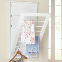 Pull-Out Laundry Rack
