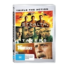 Triple Packs: Drama, Crime, Action