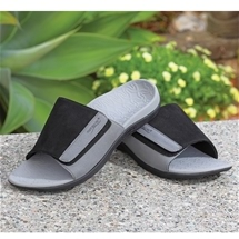 Men's Adjustable Orthotic Slides