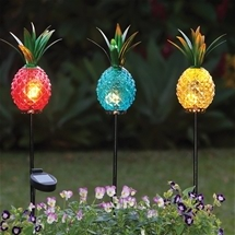 Pineapple Solar Lights