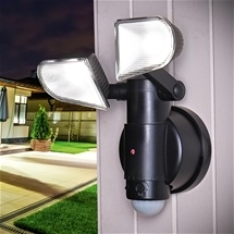 Security Twin LED Light