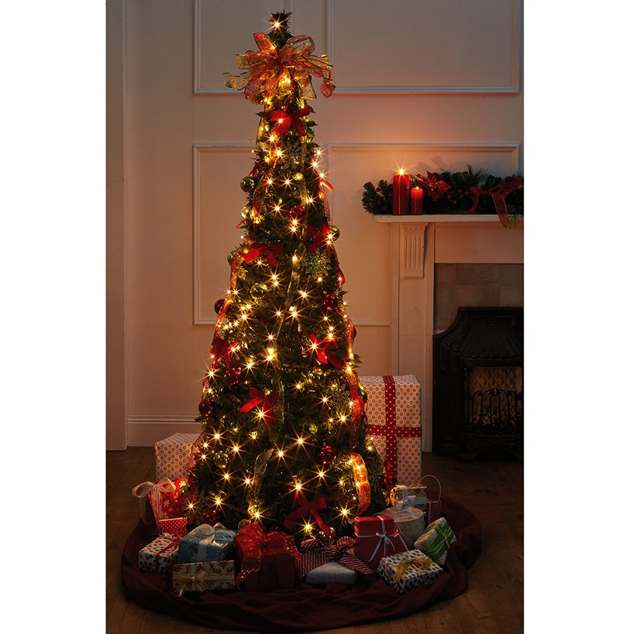 collapsible decorated christmas tree_cxtr_0 collapsible decorated christmas tree_cxtr_1