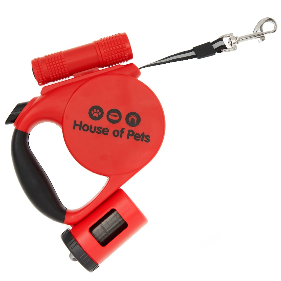 Retractable Dog Leash with 4m Reflective Stripe_HD1134_1
